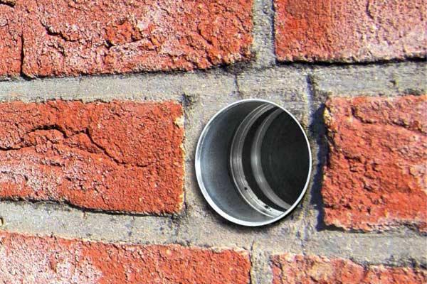 Caja fuerte en la pared